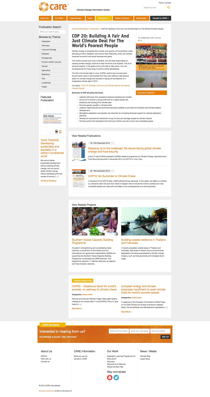 WordPress Publications Development
